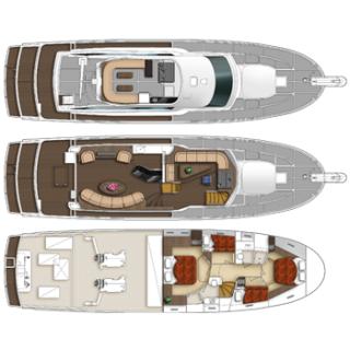 Du thuyền 62 feet Pilothouse