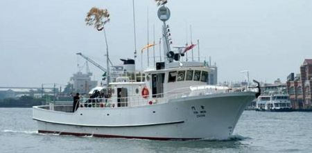 80GT FRP Multifunction Fishery Trial Boat (1)