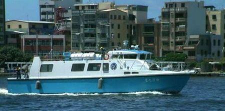 80GT FRP Cargo Passenger Boat (1)