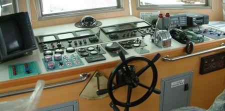 80GT FRP Cargo Passenger Boat(2)