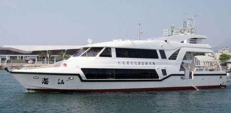 Navio de passageiros da balsa 99GT (1)