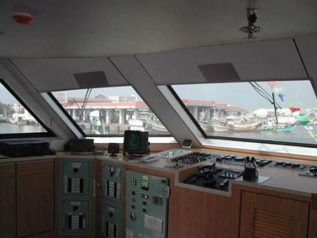 199GT FRP Catamaran Passenger Cab