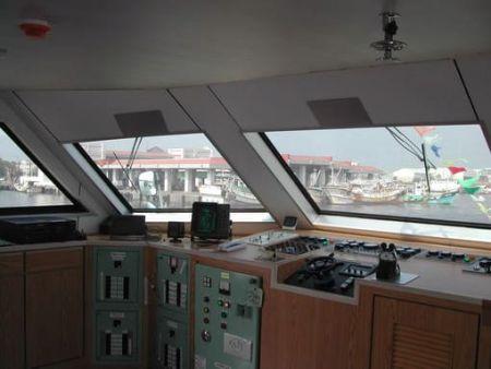 Cabine de Passageiros Catamarã 199GT FRP