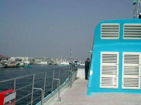 Dek Atas Penumpang Catamaran 199GT FRP