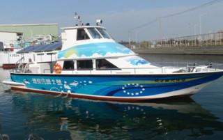 Fluss-Arbeitsboot
