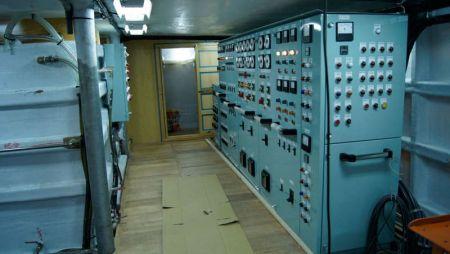 380GT Tuna Long Liner Boat Main switchboard