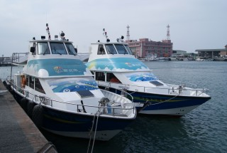 19GT FRP High speed Passenger Boat Hull appearance