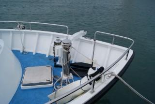 19GT FRP High speed Passenger Boat Bow equipment