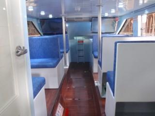 19GT FRP High speed Passenger Boat cabin(2)