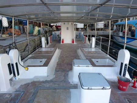 19GT FRP Passeio Turístico Submarino de Passageiros Convés superior (1)