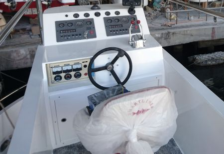 19GT FRP Undersea Sightseeing Passenger Ship Cab