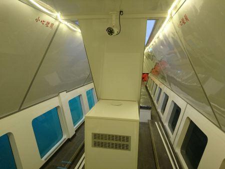Cabine inferior do navio de passageiros de turismo submarino 19GT FRP (1)