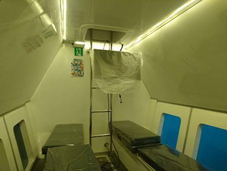 Cabine inferior do navio de passageiros de turismo submarino 19GT FRP (2)