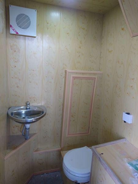 Banheiro de navio de passageiros de turismo submarino 19GT FRP