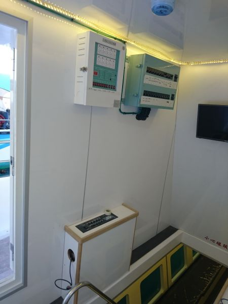 19GT FRP Undersea Sightseeing Passenger Ship Distribution panel