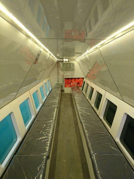 Cabine inferior do navio de passageiros de turismo submarino 19GT FRP (3)
