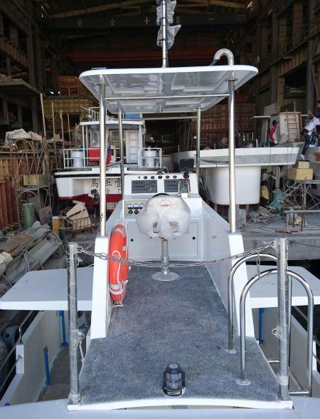 Aparência de cabine de navio de passageiros de turismo submarino 19GT FRP (2)