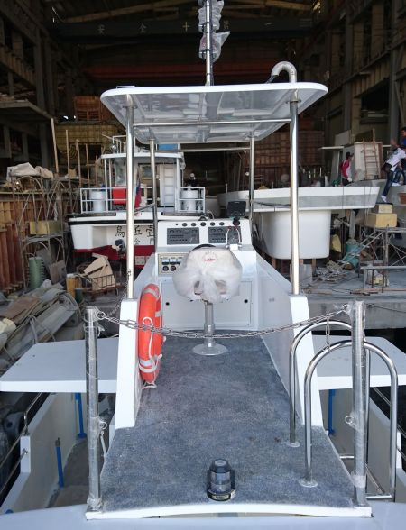 19GT FRP Undersea Sightseeing Passenger Ship Cab appearance(2)