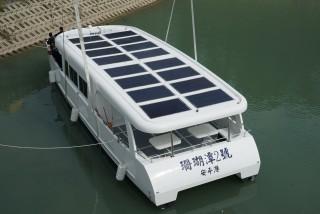 20GT FRP Diesel-electric catamaran passenger ship New ship lifting reservoir