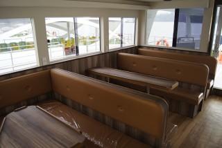 20GT FRP Diesel-electric catamaran passenger ship cabin(1)