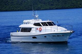40 톤 여객 및 화물선