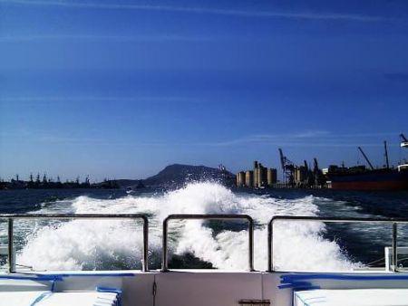 49GT FRP Catamaran passenger ship Sea Trial
