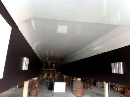 49GT FRP Catamaran passenger ship Ship bottom construction