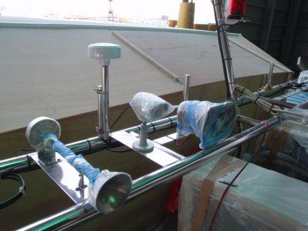 49GT FRP Catamaran passenger ship Navigational instrument receiver holder
