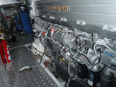 49GT FRP Catamaran passenger ship Main Engine