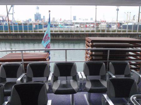 49GT FRP Catamaran passenger ship Upper cabin(1)