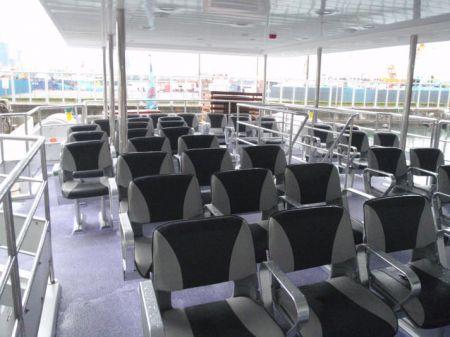 49GT FRP Catamaran passenger ship Upper cabin(2)