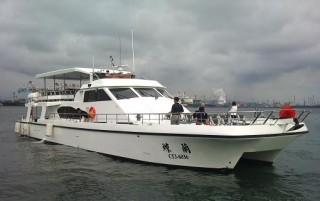 49GT FRP Katamaran Passagierboot