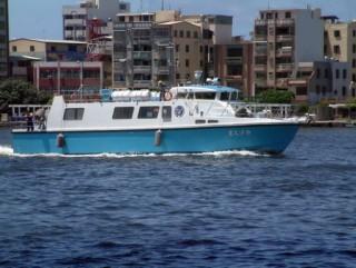 80GT FRP قارب ركاب البضائع