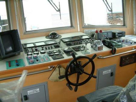 80GT FRP Cargo Passenger Boat Wheel House