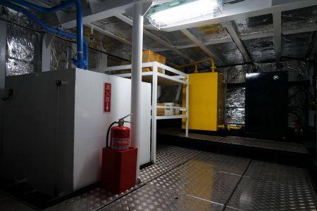 87 톤 스틸 오일-전기 페리 배터리 제어 시스템