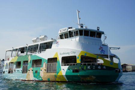 Barco de pasajeros de transbordador eléctrico y petrolero de acero 87GT