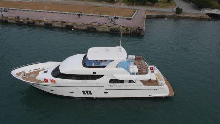 98GT FRP Passenger Boat Sea trial