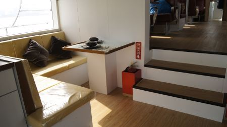 98GT FRP Passenger Boat Cabin(1)