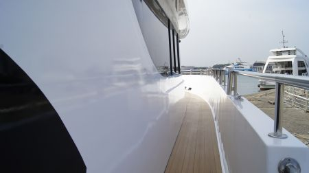 98GT FRP Passenger Boat Ship side channel