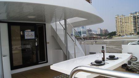 98GT FRP Passenger Boat Outdoor passenger area