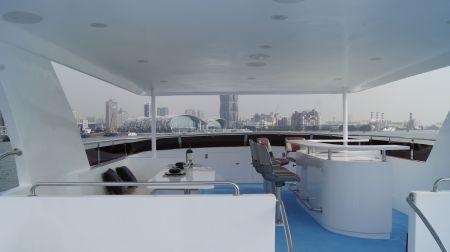 98GT FRP Passenger Boat Bar