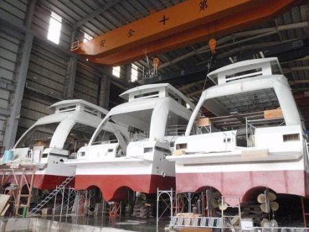 Construção de navio de passageiros da balsa 99GT