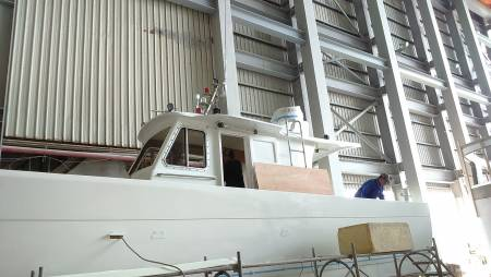 38ft FRP Sealion fishing boat Under Construction(1)