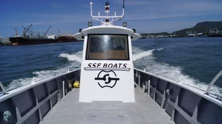 Thuyền đánh cá 38ft FRP Sealion Ngoại hình cabin