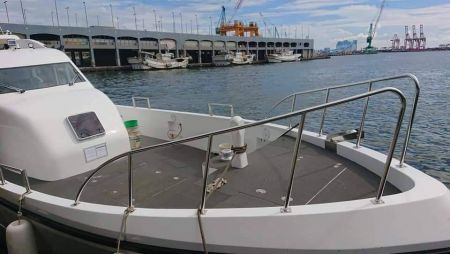 48ft FRP Sealion fishing boat Bow