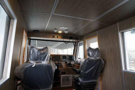 48ft FRP Sealion fishing boat Cab interior decoration(6)