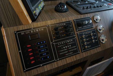 48ft FRP Sealion fishing boat Cab interior decoration(9)