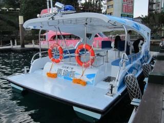 5GT FPR Solar electric Patrol Boat