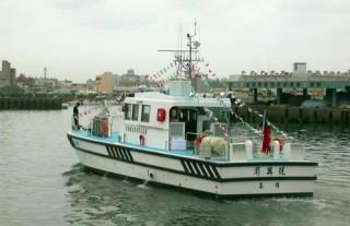 55GT FRP High Speed Patrol Boat