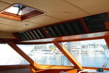 58 Feet Pilothouse Du thuyền taxi